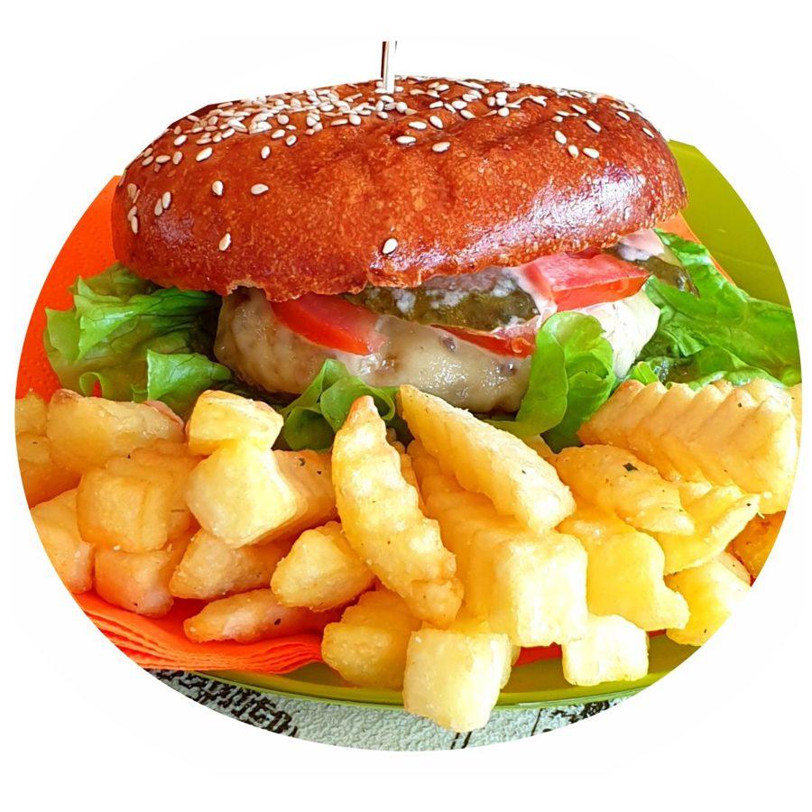 Lielais LIELLOPU Kebaba Burgera komplekts