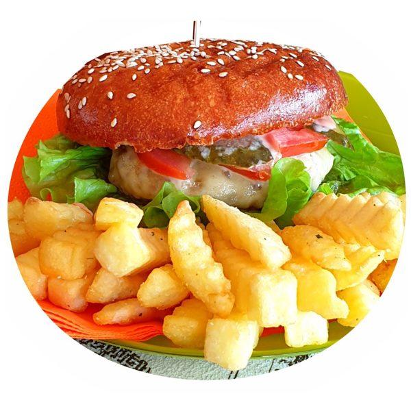 Large CHICKEN Burger - set