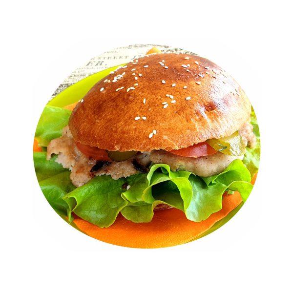 Small Beef Kebab Burger